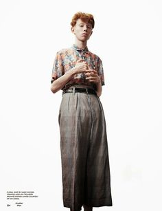 King Krule lensed by Willy Vanderperre