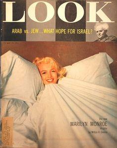 Marilyn covers Look magazine  Marilyn Monroe #marilyn #monroe #marilynmonroe #icon #magazine #cover #covermagazine #marilynmagazine #mag @GraphicTools