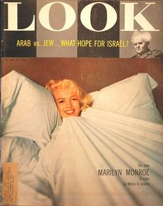 Marilyn covers Look magazine