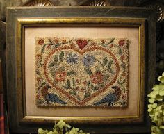 punch needle hooked rugs