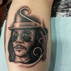 Started This Gary Oldman Dracula Tattoo Today