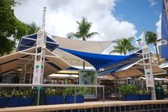 Shade Sails and Shade Structures from Miami Awning Company ...