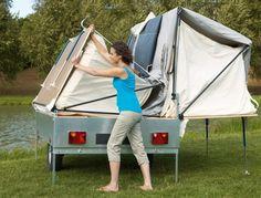 Camplair S Trailer Tent | Easy Erect 4 Berth