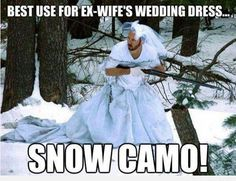 Winter is coming #winter #meme #lol...that would be funny to see go hunting in...he always goes when it snows;)