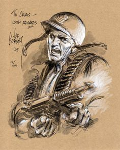 Joe Kubert Never Dies Comic Book Pages, Comic Book Artists, Comic Books Art, Comic Art, War Comics, Anime Comics, Joe Kubert, Western Comics, Dc Comics Characters