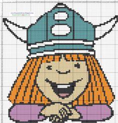 Vicky+El+Vikingo+-+Cross+Stitch+Punto+de+cruz.jpg (1177×1233)