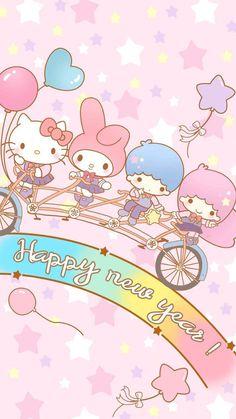 双子星 melody~iPhone高清手机壁纸 melody 小双子星 美乐蒂 hello kitty 凯蒂猫 sanrio Kitty 高清壁纸