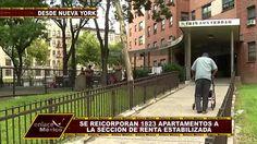 REINCORPORAN CASI DOS MIL VIVIENDAS CON RENTA ESTABILIZADA EN N.Y.