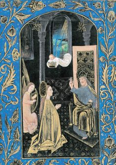 The Coronation of the Blessed Virgin Mary, Mother of God from the Black Hours #catholictothemax