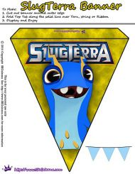 Free Slugterra Party Printables, and Crafts   SKGaleana