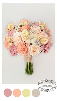 Букет невесты из полимерной глины. Букет невесты, свадебные цветы, цветы из полимерной глины, wedding flowers, Bridal bouquet, wedding bouquet, deco clay