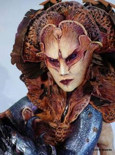 Virginie Ropars - Zuggtmoy, Demon Queen of Fungi, Dragon+ cover for Wizards of the Coast, D&D. Character Inspiration, Character Art, Character Design, Creature Feature, Creature Design, Face Off, Alien Concept, Concept Art, Fantasy Makeup