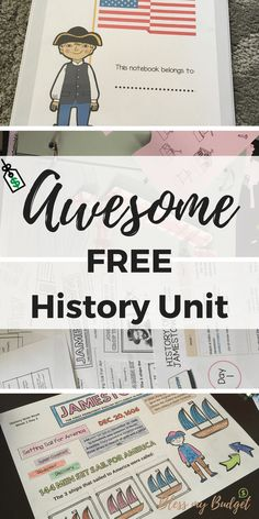 Jamestown Activities for Students - Free Lesson Plan