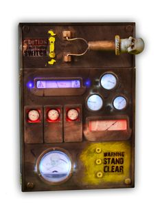 Electric Box Decoration - Spirit Exclusive - this is dope