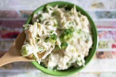 skinny slow cooker creamy chicken serves 6 and has under 5 ingredents view 3 spoon view
