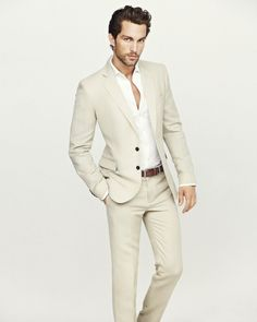 Wear your summer suit out before the summer ends! TOBIAS SØRENSEN FOR H.E. BY MANGO SUMMER 2013 LOOKBOOK