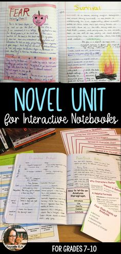 This bundle contains resources for helping you set up novel units in interactive notebooks for older students. it includes templates, explanations, Interactive Reading Journals, Interactive Student Notebooks, Reading Notebooks, Interactive Activities, Satire, Reading Strategies Posters, Handout, Writing Checklist, Reading Anchor Charts