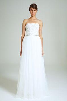 Preciosos los vestidos de novia de @ColletteDin