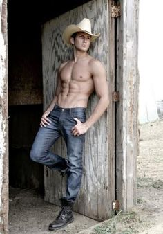 """hotinjeans: """"male model Rob Wilson as cowboy """" Bodies, Hot Country Boys, Hot Cowboys, Cowboy Up, Raining Men, Male Form, Attractive Men, Gorgeous Men, Beautiful People"""