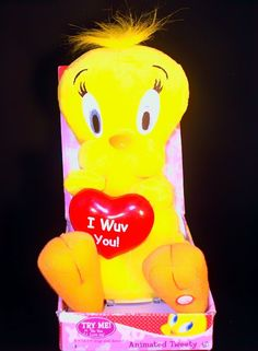 Animated Looney Tunes Tweety