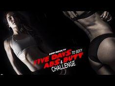 Five days abs & butt challenge