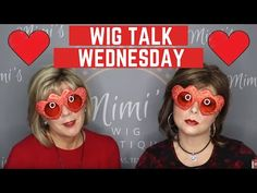 WIG TALK WEDNESDAY VALENTINE'S DAY PARTY!!! - YouTube Valentines Day Party, Hair Pieces, Wednesday, Wigs, Make It Yourself, Youtube, Extensions Hair, Youtubers, Lace Front Wigs