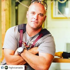"bryanbaeumler: ""#Repost @hgtvcanada with @repostapp.  Your favourite handyman is back at it tonight at 10e! #LeaveItToBryan @bryanbaeumler"""