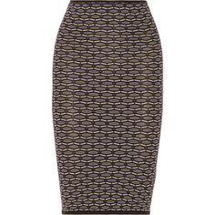M Missoni's stretch-knit pencil skirt