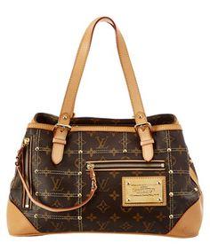 Louis Vuitton Limited Edition Monogram Canvas Riveting In Brown Multi Luxury Purses, Luxury Bags, Louis Vuitton Handbags, Purses And Handbags, Messenger Bag Backpack, Buy Bags, Vintage Purses, Monogram Canvas, Coach Purses