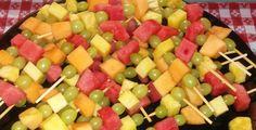 Fresh Tropical Fruit Kabobs