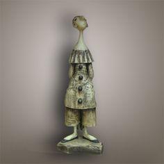 Кукольная скульптура «Пьеро»