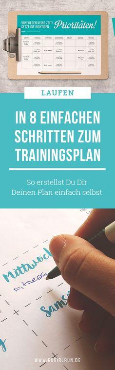 So erstellst Du Dir Deinen eigenen Lauf-Trainingsplan    #laufen #anleitung #training #trainingsplan