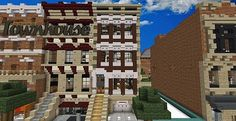 Townhouse | Traditional | Minecraft Building Inc