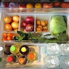 女性で、Otherのキャンドゥ/100均/収納/冷蔵庫/キッチンについてのインテリア実例を紹介。「野菜類はキャンドゥのジョイント式の容器に入れて収納。 探しやすく、掃除し易い。」(この写真は 2016-03-13 07:06:11 に共有されました)