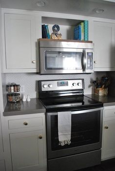 Luxury Space Saver Microwaves Under Cabinet