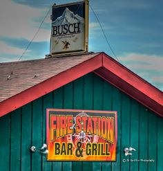 Our Eyes Upon Missouri: The Fire Station Bar and Grill, Camdenton, MO