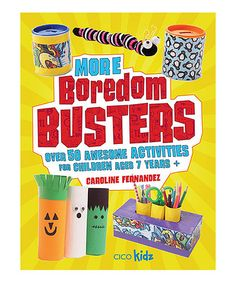 Love this More Boredom Busters Paperback on #zulily! #zulilyfinds