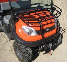 Kubota Hood Rack (for vehicles without bumpers) Kubota, Atv, Vehicles, Atvs, Mtb Bike, Vehicle