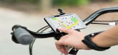 A mountain bike GPS reports information on your activity in real time. A mountain bike GPS track your location easily. GPS also inform you speed,location Best Mountain Bikes, Mountain Bicycle, Mountain Biking, Mountain Bike Accessories, Cool Bike Accessories, Best Electric Bikes, Bike Pump, Smartphone, Apps