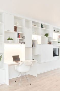Study Room Decor, Home Decor Bedroom, Living Room Decor, Staircase Storage, Bookcase With Glass Doors, Colourful Living Room, Bookshelves Built In, Home Libraries, Living Room Storage