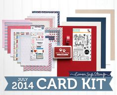 SSS July 2014 Card Kit and Ranger Coupon Code