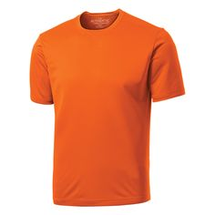 Adult ATC (TM) Pro Team short sleeve tee, 6 oz., 100% polyester jersey knit. Tagless. Cationic dye process resistant to color bleeding. Moisture wicking. Soft when you want it and tough when you need it. This is what makes the ATC (TM) Active Collection an instant favorite. Tops, bottoms and everything in between makes for a perfect team collection.