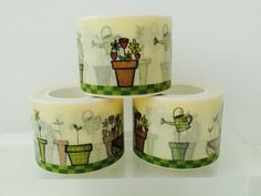 Gardening Washi Tape by GoatGirlMH on Etsy