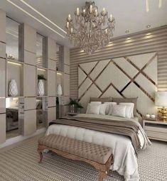 87 extraordinary and inspiring home bedroom interior design for decoration 83 Luxury Bedroom Design, Master Bedroom Design, Home Decor Bedroom, Interior Design, Luxury Home Decor, Diy Bedroom, Bedroom Ideas Master For Couples, Luxury Master Bedroom, Master Suite