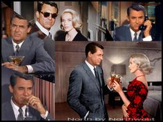 North by Northwest wonderful movie Hollywood Actor, Hollywood Stars, Classic Hollywood, Old Hollywood, Great Movies, New Movies, Movies And Tv Shows, North By Northwest, Cinema Film