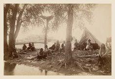Pueblo Indians at Taos, New Mexico