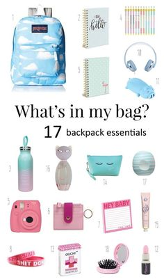 What is in My Bag? Back To School Checklist What is in My Bag? Back To School Checklist. School Essentials 2018 The post What is in My Bag? Back To School Checklist appeared first on School Diy. Middle School Lockers, Middle School Supplies, Middle School Hacks, High School Hacks, College Supplies, Back 2 School, School Goals, School Kit, Bag To School