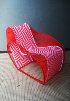 Cheick Diallo's awesome chair designs on Elle Decoration SA blog