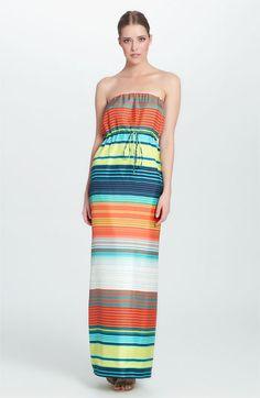 Love this silk maxi dress !