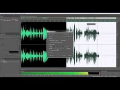 Scary voices sound effects tutorial for Adobe Audition CS 5.5 with Mike Russell from Music Radio Creative.